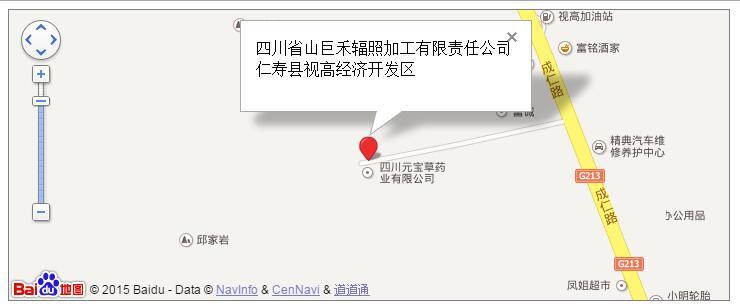 借助百度地图api显示企业位置位置及名片